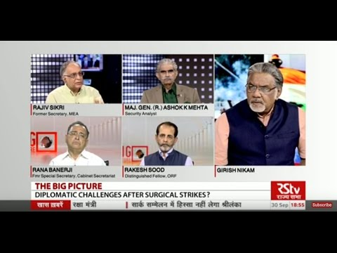 The Big Picture- Diplomatic challenges after surgical strikes?