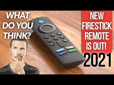 BRAND NEW AMAZON FIRESTICK ALEXA REMOTE 2021 IS HERE! SEE IT NOW!