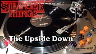 Stranger Things Vol. 1 - The Upside Down - Black Vinyl LP