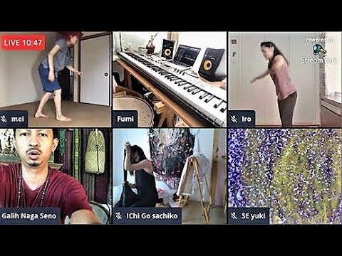 "sachiko-production-presents""amerta-sounds""-live-streaming-ライブストリーミング・パフォーミングアーツ"
