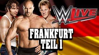 WWE LIVE Tour in Frankfurt - 15.11.2014 mit Alpha Female, Mic Weigl [Teil 1/4]