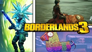 Borderlands 3 - France Secrets et oeufs de Pâques - Fortnite Lama, Tannis on a Fish, Rick et Morty,
