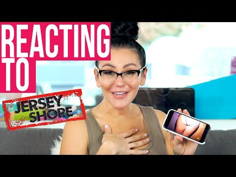 JWOWW REACTS TO THE FIRST EPISODE OF JERSEY SHORE