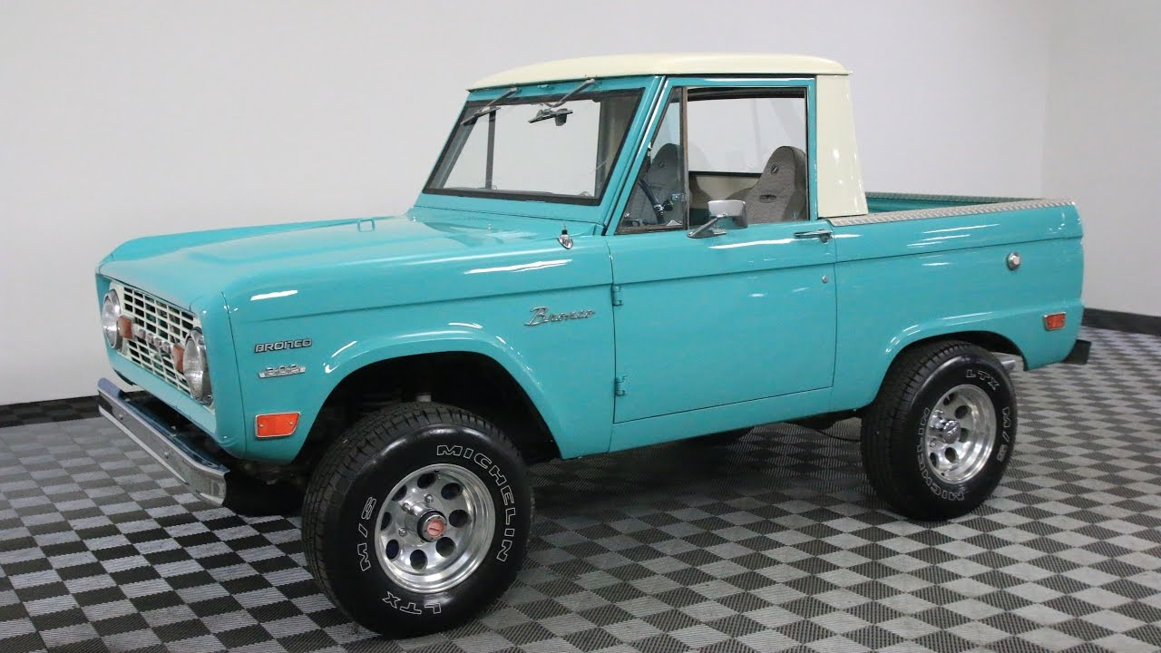 1969 Ford Bronco Light Blue