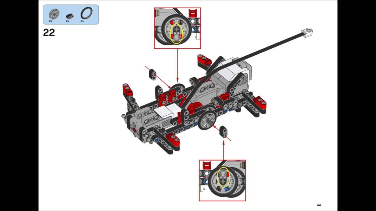 Lego Mindstorms EV3 31313 - SPIK3R Building Instructions ...
