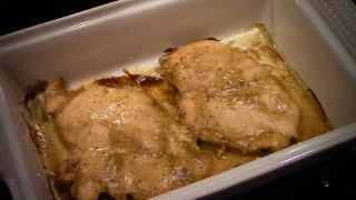 Easy Honey Mustard Chicken Breasts Recipe - Baked Or Grilled