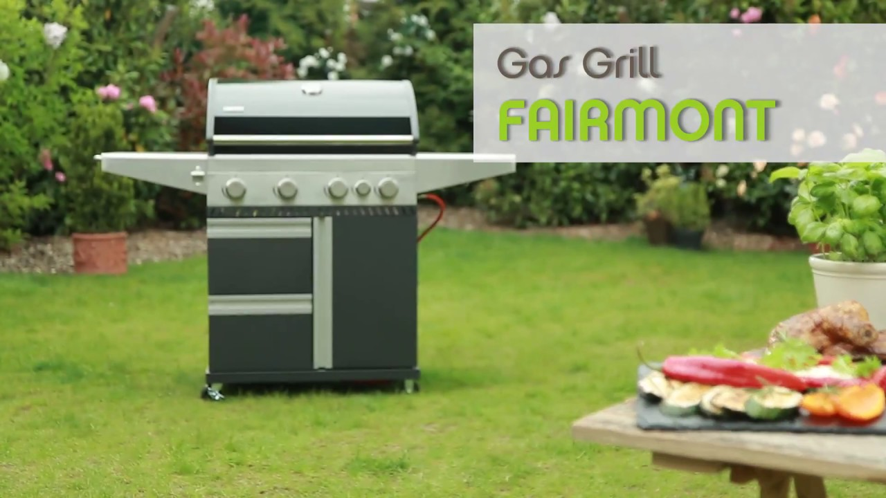 tepro gas grill fairmont - youtube