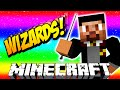 Minecraft WIZARDS #1 with Vikkstar, Jerome & Preston (Minecraft Magic PVP)