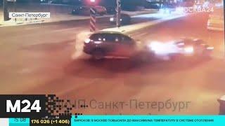 В Санкт-Петербурге водитель каршеринга влетел в людей на тротуаре - Москва 24