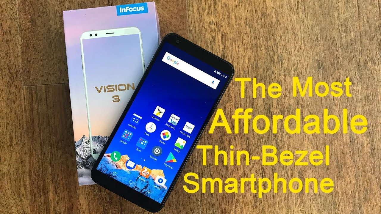 buy online 53610 288e9 Infocus Vision 3 unboxing and first look