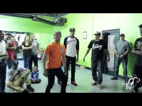 Les Twins, Fik-Shun, and Smart Mark   Smart Mark Workshop/Cypher   Talent Scene #SXSTV