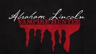 Minimalist Posters - Abraham Lincoln: Vampire Hunter (2012)