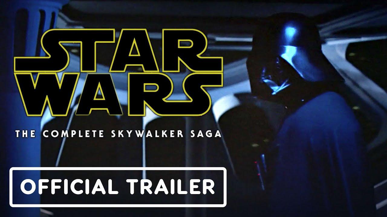 Star Wars The Skywalker Saga Official Disney Plus Trailer Youtube