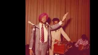 Jagjit Singh Zirvi - Puniya De Chan Nu Koi Masiya