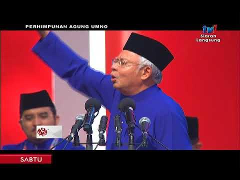 PAU 2017 PENGGULUNGAN: PRESIDEN UMNO [9 DIS 2017]