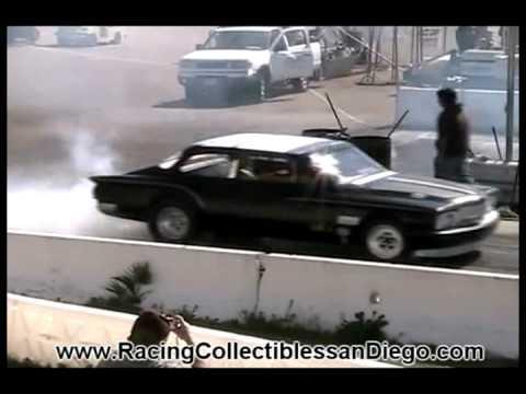 1962 Plymouth Valiant Slant Six Drag Racing Barona drag Strip 2-18-2012