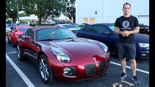 Was the 2009 Pontiac Solstice GXP Coupe too LITTLE too LATE?
