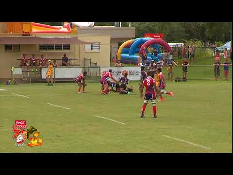 Borneo Eagles v Island Breeze; Hottest 7s in the World 2018; Day One; Field One