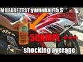 Yamaha R15 S Mileage Test