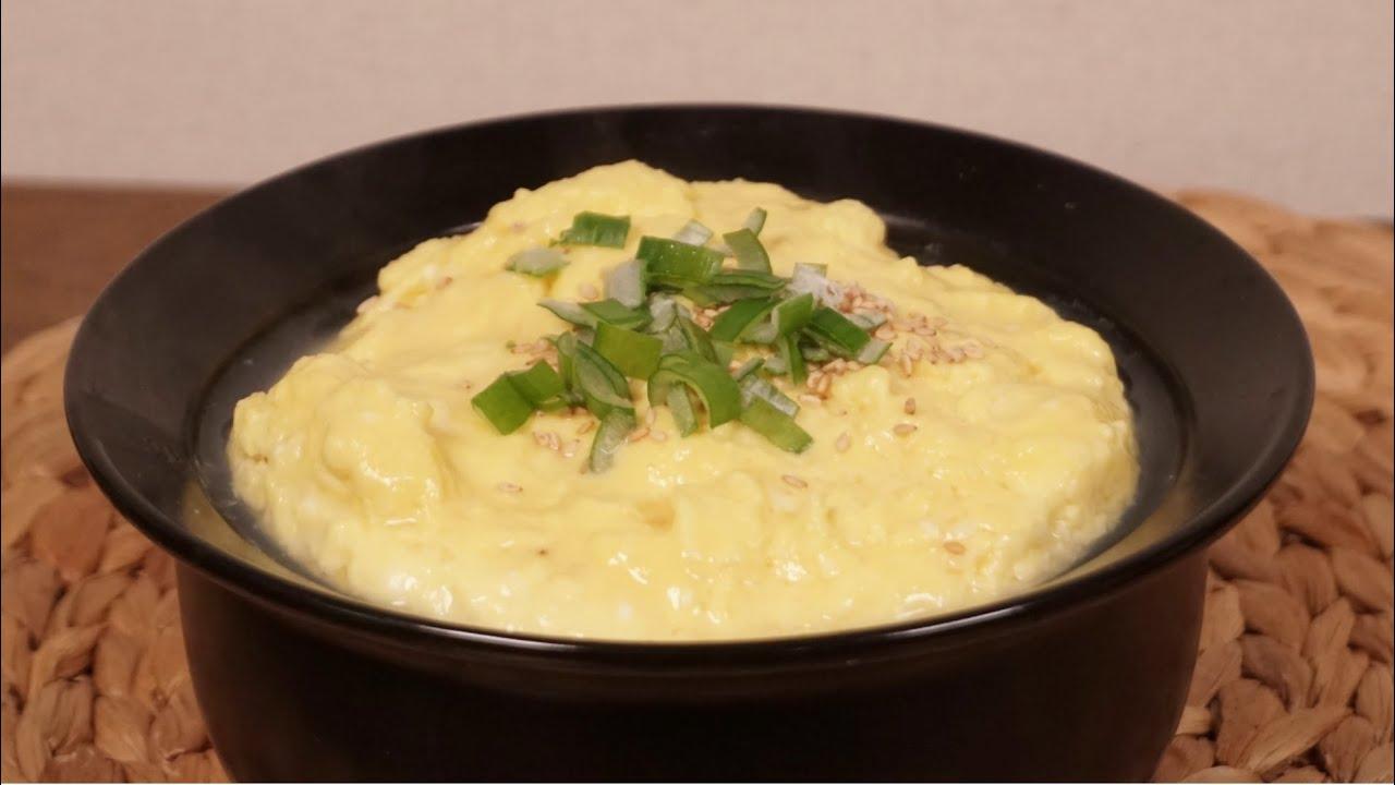 [ENG/간단요리] ㅇㅇ한스푼이면 맛있는 폭탄계란찜 완성!! 폭탄계란찜 만들기 Steamed Eggs