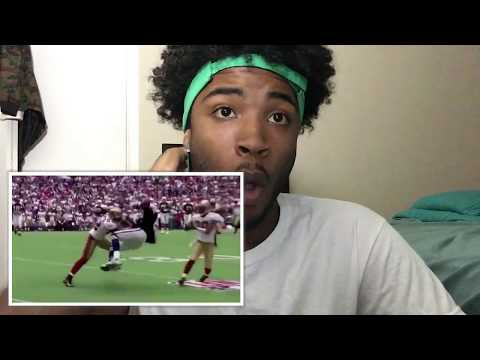NFL HITS VS RUGBY HITS (REACTION)