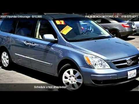 2007 Hyundai Entourage Gls Minivan 4d For In San Go Ca 92154