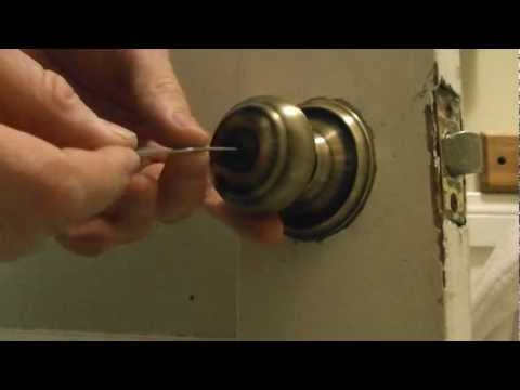 how-to-pick-a-bathroom-door-lock