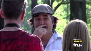 Impractical Jokers Asking Unsuspecting People in the Park to Volunteer for Funny Things