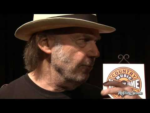 Neil Young On playing with country music legends