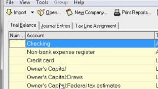 Lacerte Tax Software - Trial Balance Utility and SmartMap