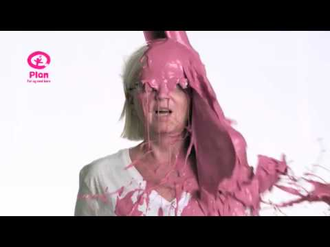 Time Warp Pink Paint Right In The Face Youtube