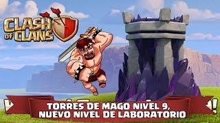 Clash of Clans | Próxima Actualización | Torre de Magos Nivel 9, Laboratorio y mucho más !!!