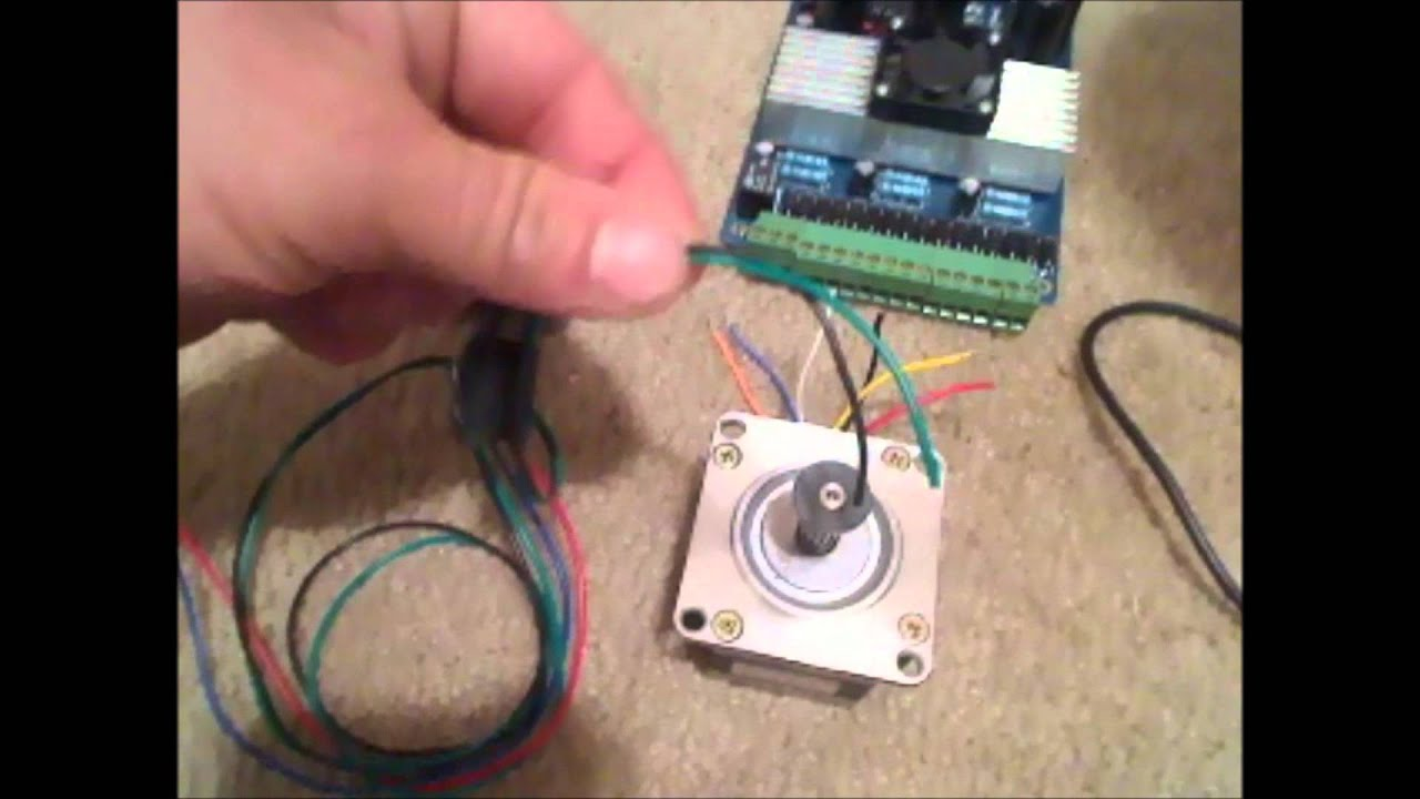 medium resolution of 4 and 6 wire stepper motors