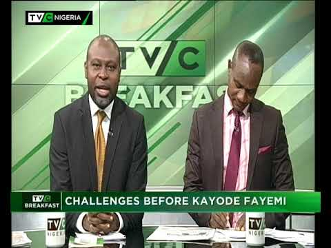 TVC Breakfast 19th July, 2018 | Challenges before Fayemi
