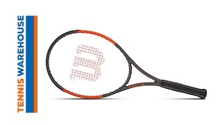 Wilson Burn 100S Countervail Racquet Review