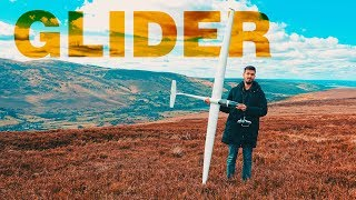 My RC glider | Flying in Wicklow, Ireland [In 4K]