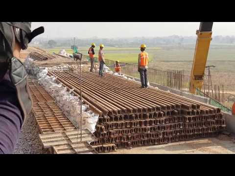 Load Testing of Bridge on Dedicated Freight Corridor near Aligarh
