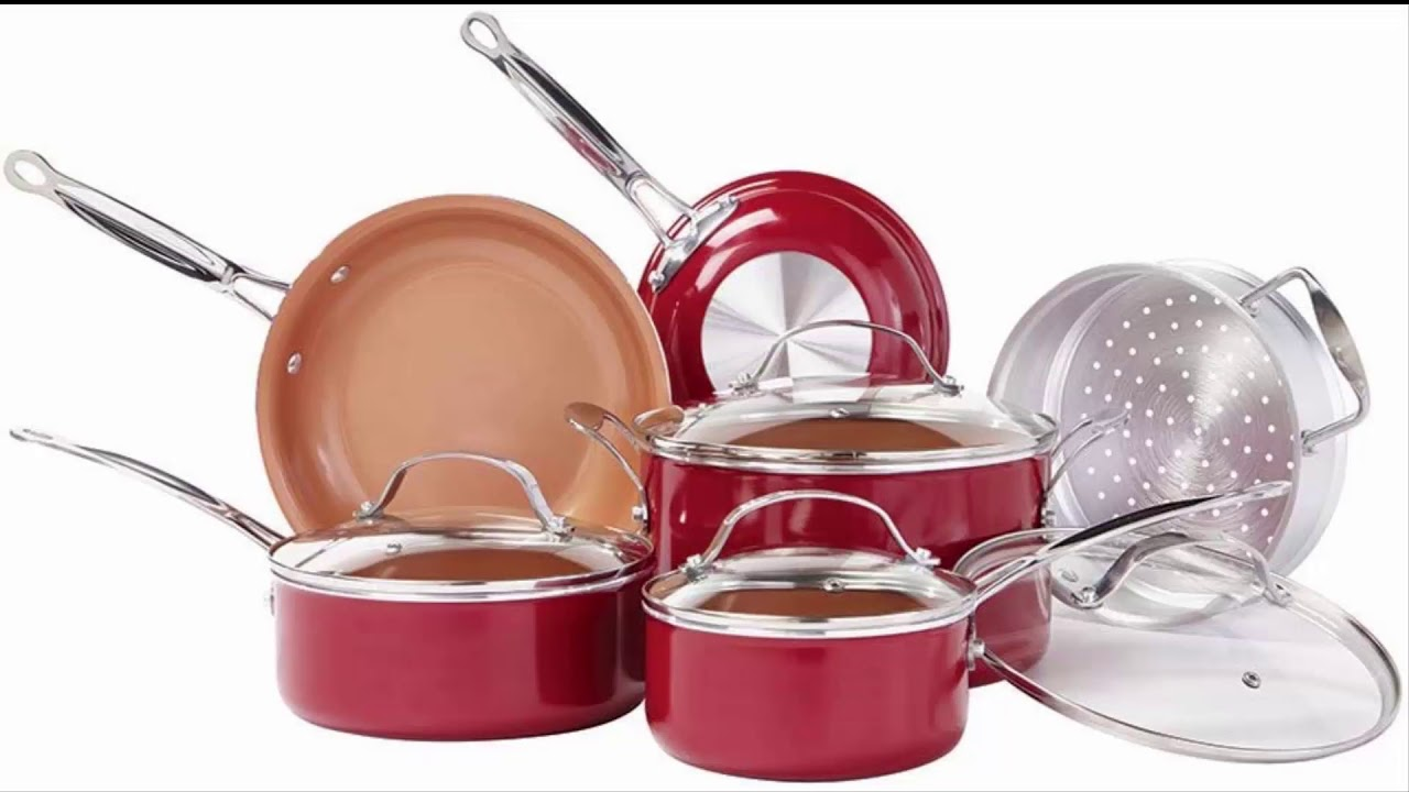 Best Cookware Sets 2021 Top 3 Copper Cookware Sets For 2020 and 2021 (The Best Ones)   YouTube