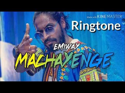 EMIWAY-MACHAYENGE | BY TONY JAMES | Instrumental Ringtone