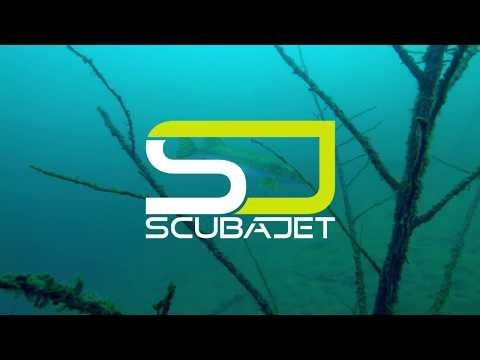 Diving in the Lake Woerthersee with the SCUBAJET