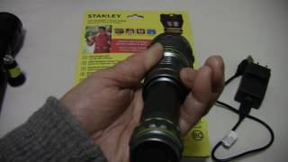Stanley rechargeable led flash light with power bank function