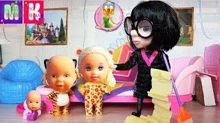 НОВАЯ НЯНЯ 2 КАТИ МАКСА И ДИАНЫ ВЕСЕЛАЯ СЕМЕЙКА #мультики с куклами видео для #детей