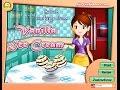 HOW TO PLAY SARA'S COOKING CLASS VANILLA ICE CREAM WALKTHROUG