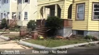 Tornado Damage Revere MA - July 28, 2014