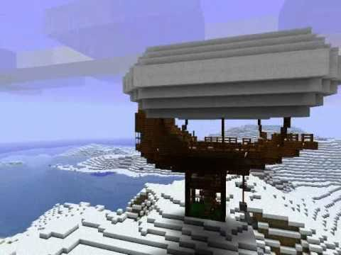 Minecraft - Airship w/ Boom