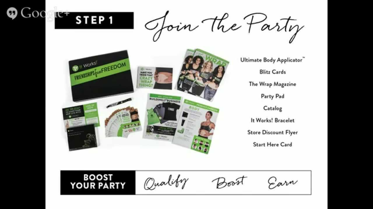 Assez It Works! Party Pad - Learn more about that CraZy WrAp thing  XB94