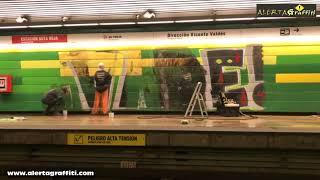 Recuperación Estación de metro Vandalizada