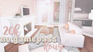 20k No Gamepass House | ROBLOX Bloxburg