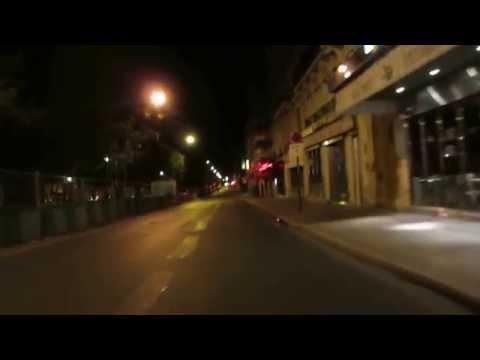 Cycling in Paris by Night: Boulevard de Clichy _ Boulevard des Batignolles
