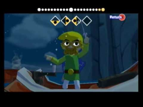 Let's Play Zelda: The Wind Waker Part 59 - Ghost Ship Chart and Triforce Chart 4